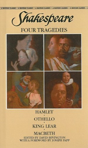 9780812457308: Shakespeare: Four Tragedies: Hamlet/Othello/King Lear/Macbeth (Bantam Classics (Pb))