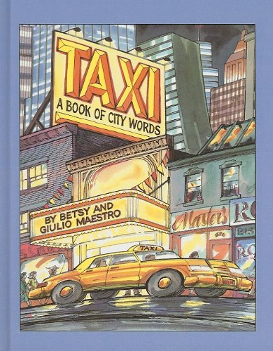 9780812493153: Taxi: A Book of City Words