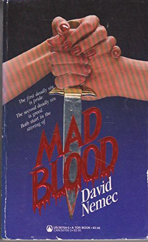 Mad Blood (0812507045) by David Nemec
