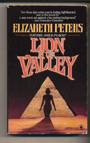Lion in the Valley: Peters, Elizabeth