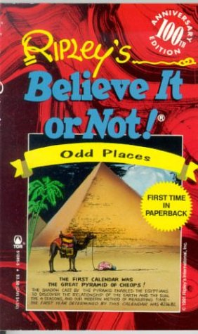 Ripley's Believe It or Not!: Odd Places (0812512855) by Howard Zimmerman