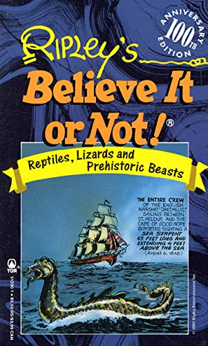 Ripley's Believe It or Not: Reptiles, Lizards And Prehistoric Beasts (0812512901) by Zimmerman, Howard