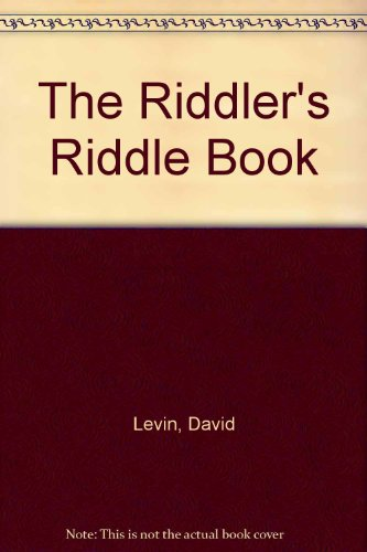 9780812513530: The Riddler's Riddle Book