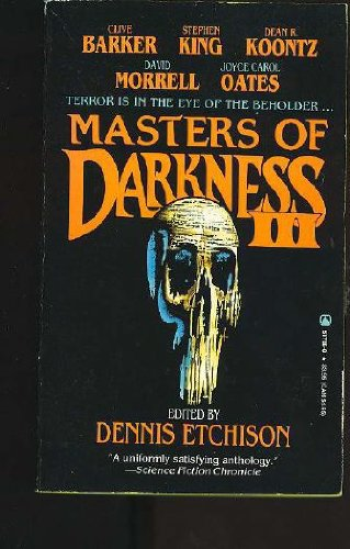 Masters of Darkness III [Apr 01, 1991]: Clive Barker; Stephen