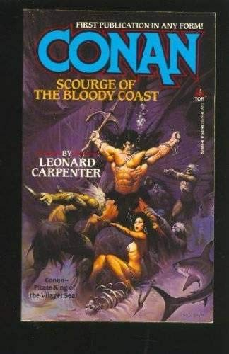 9780812524888: Conan, Scourge of the Bloody Coast