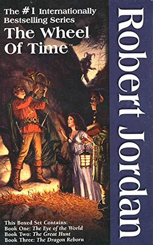 9780812538366: The Wheel of Time Set I, Books 1-3: The Eye of the World / The Great Hunt / The Dragon Reborn