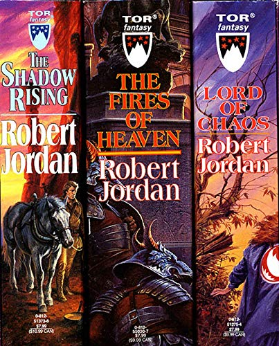 9780812540116: The Wheel of Time, Boxed Set II, Books 4-6: The Shadow Rising, The Fires of Heaven, Lord of Chaos