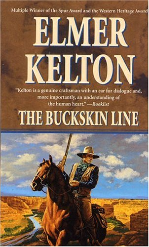 9780812540208: The Buckskin Line (Texas Rangers)