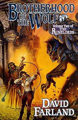 Brotherhood of the Wolf (The Runelords, Book Two): Farland, David