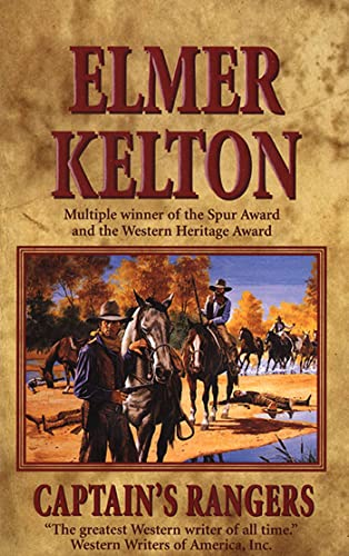 9780812574906: Captain's Rangers (Texas Rangers Series)