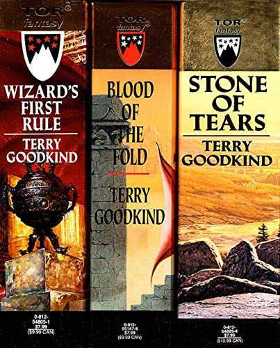 9780812575606: The Sword of Truth, Boxed Set I, Books 1-3: Wizard's First Rule / Stone of Tears / Blood of the Fold