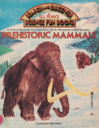 9780812594935: Prehistoric Mammals (Search and Discover Science Fun Books)