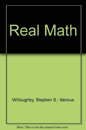 9780812605051: Real Math