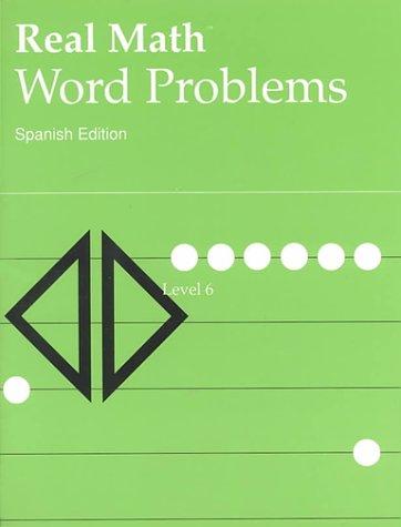 9780812607062: Real Math World Problems: Level 6 (Spanish Edition)