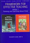 9780812611038: Framework for Effective Teaching: Grade 1 ; Thinking and Learning About Print : Teacher's Guide