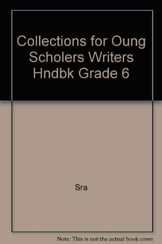 Writer's Handbook, Grade 6 - Consumable (0812662474) by Sra