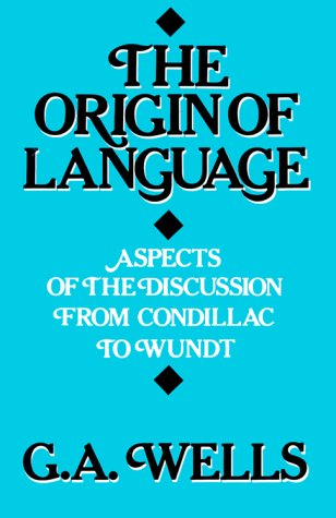 9780812690309: The Origin of Language: Aspects of the Discussion from Condillac to Wundt