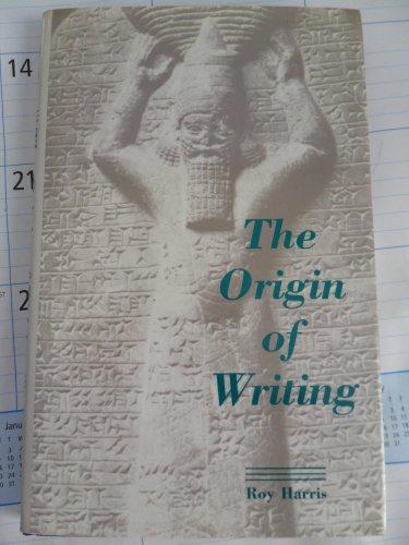 9780812690354: The Origin of Writing