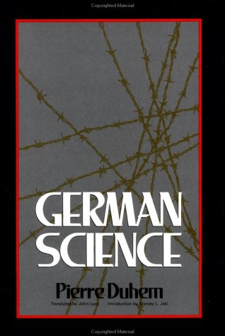 9780812691238: German Science: Some Reflections on German Science : German Science and German Virtues