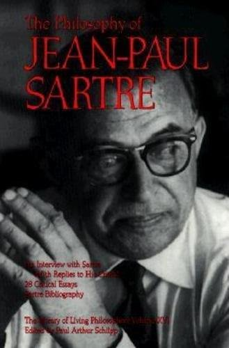 9780812691504: The Philosophy of Jean-Paul Sartre (The Library of Living Philosophers, Vol. XVI)