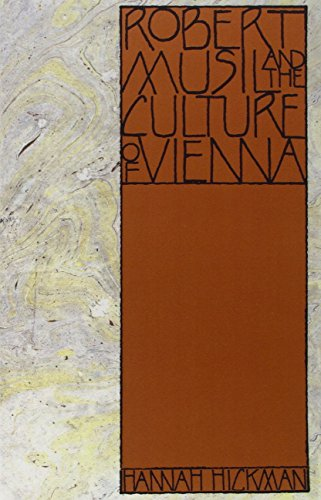 9780812691566: Robert Musil and the Culture of Vienna