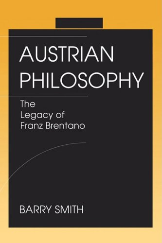 9780812693072: Austrian Philosophy: The Legacy of Franz Brentano