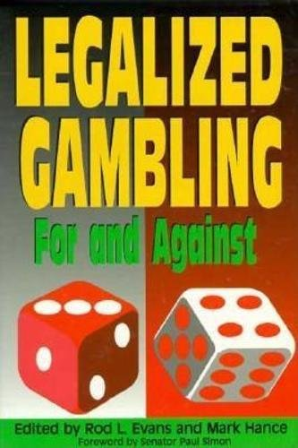 9780812693546: Legalized Gambling: For and Against