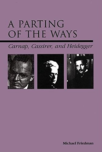 9780812694246: A Parting of the Ways: Carnap, Cassirer, and Heidegger