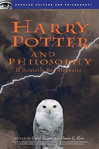 9780812694550: Harry Potter and Philosophy: If Aristotle Ran Hogwarts (Blackwell Philosophy/Pop Cultr)