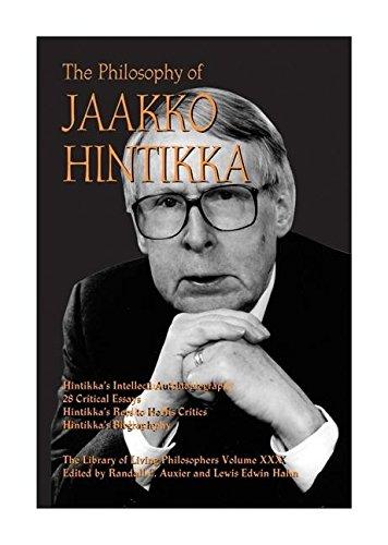 9780812694628: The Philosophy of Jaakko Hintikka (The Library of Living Philosophers)