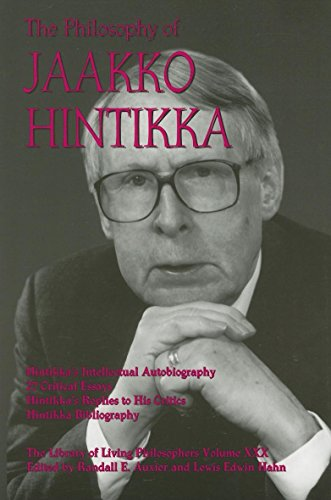 9780812694635: The Philosophy of Jaakko Hintikka (Library of Living Philosophers)