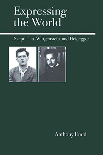 9780812695342: Expressing the World: Skepticism, Wittgenstein and Heidegger