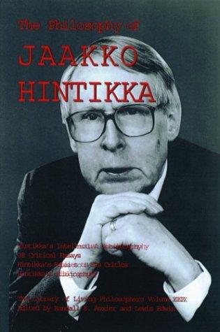 9780812695489: The Philosophy of Jaakko Hintikka (Library of Living Philosophers)