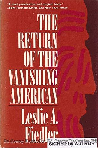 Return of Vanishing Amer: Fiedler, Leslie A.