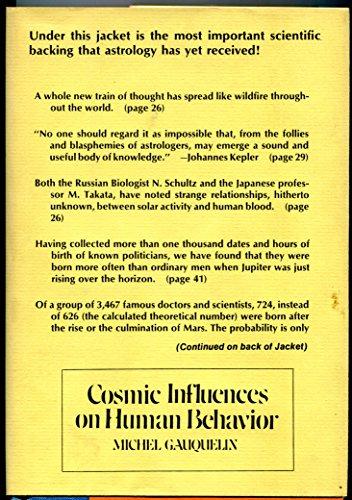 9780812815436: Cosmic influences on human behavior