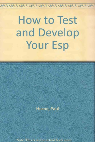 9780812821161: How to Test and Develop Your Esp
