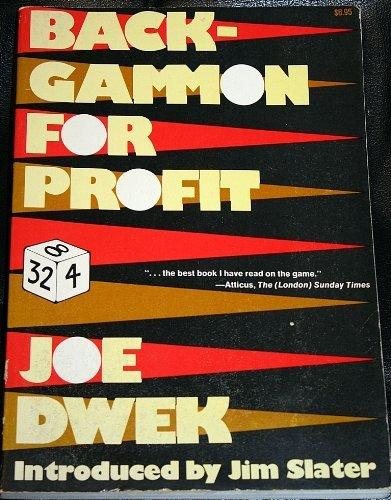 9780812823134: Backgammon for Profit