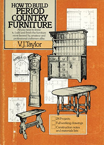 9780812826968: How to Build Period Country Furniture