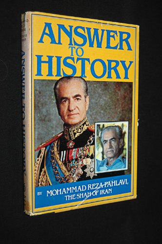 Answer to History: Mohammad Reza Shah Pahlavi