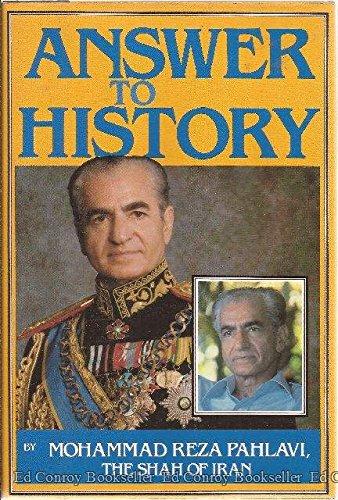 Answer to History: Mohammad Reza Shah Pahlavi