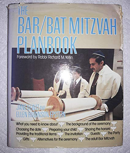 9780812828610: The Bar/Bat Mitzvah Planbook