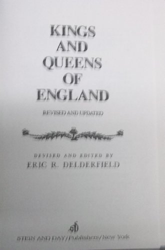 9780812828634: Kings and Queens of England