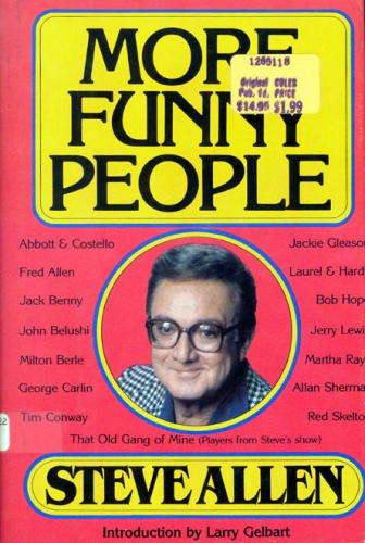 More Funny People: Allen, Steve