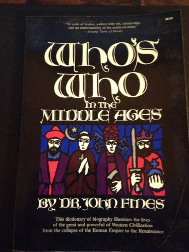 9780812860740: Who's Who in the Middle Ages