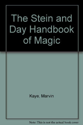 9780812862034: The Stein and Day Handbook of Magic
