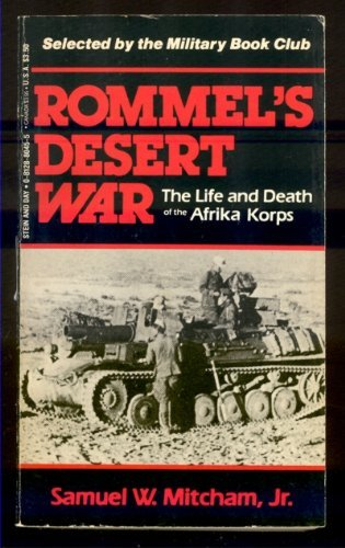 9780812880458: Title: Rommels Desert War The Life and Death of the Afrik