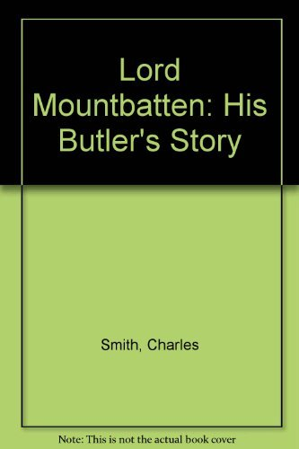 9780812880601: Lord Mountbatten: His Butler's Story