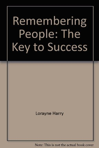 9780812885002: Remembering people: The key to success