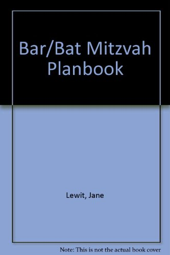 9780812885293: Bar/Bat Mitzvah Planbook