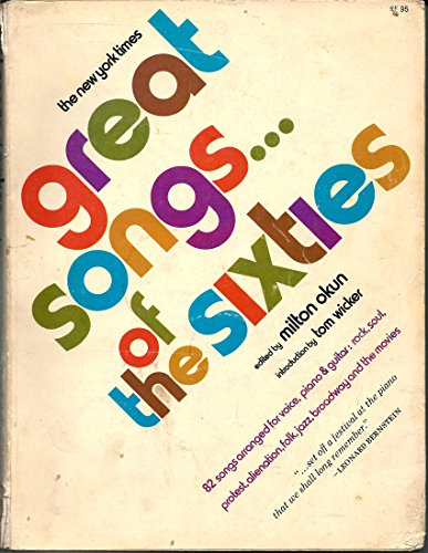 New York Times Great Songs of the Sixties: Okun, Milton (Ed. )